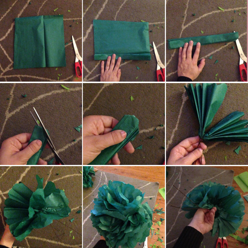 Diy giant flower photo booth backdrop the homesteady make your own photo booth backdrop using lattice and giant tissue paper flowers click through mightylinksfo