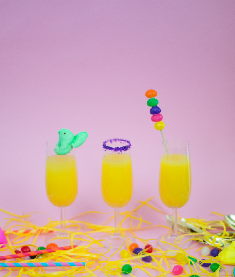 3 super-sweet ways to dress up Easter morning mimosas