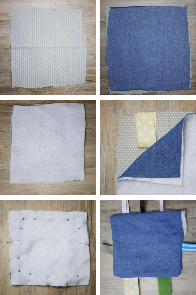 How to sew a soft tag toy for baby