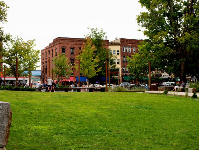 Pulaski Park in Northampton, MA