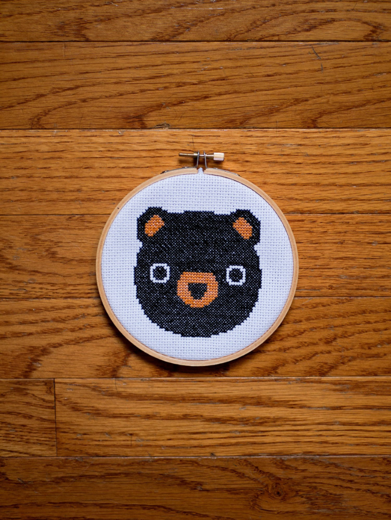 Woodland creatures cross stitch patterns (perfect for rustic nursery)