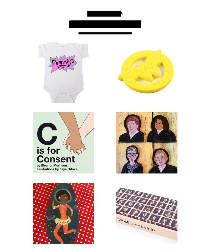 Baby feminist gift ideas