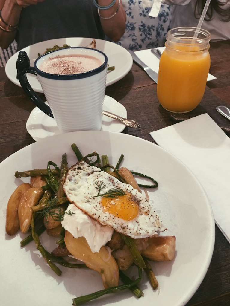 Brunch at Maman Cafe in NYC