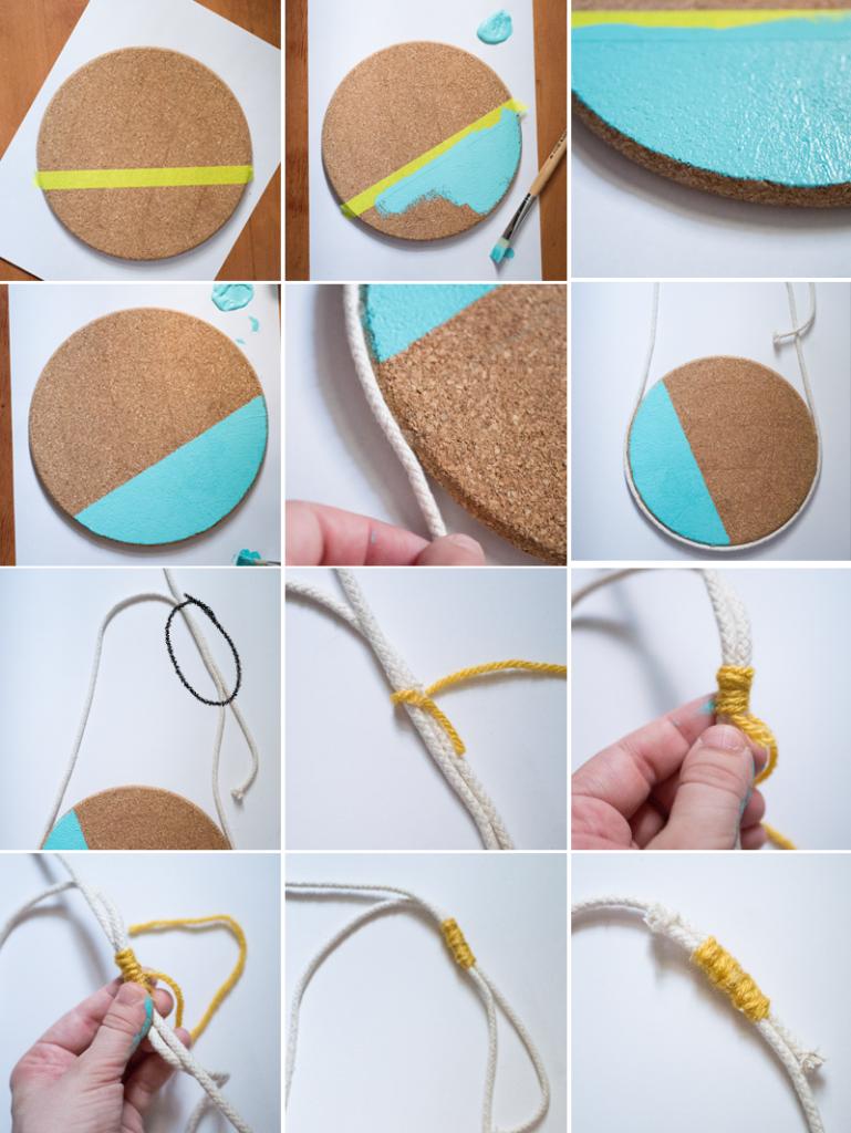 DIY bulletin board IKEA hack (store enamel pins)