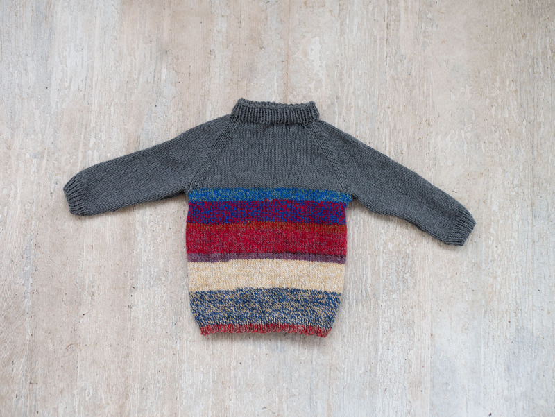 Baby sweater free knitting pattern