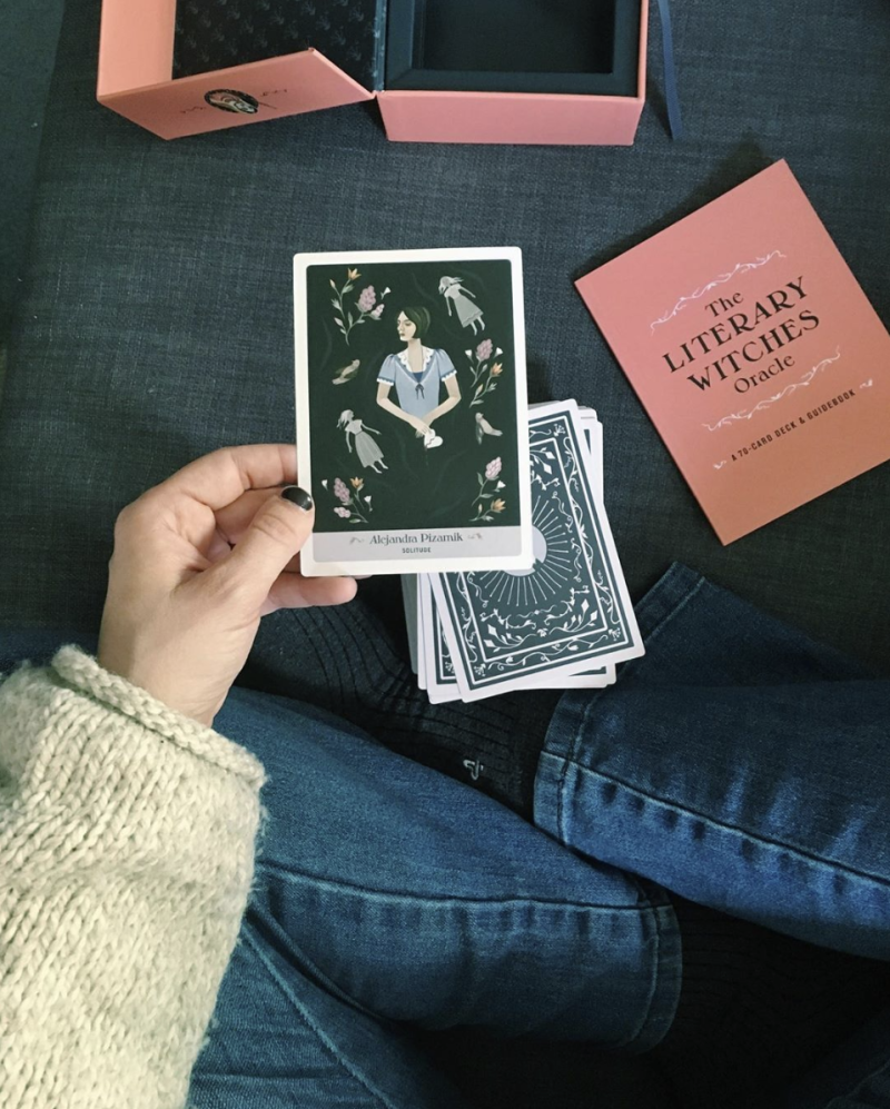 Literary Witches Oracle deck